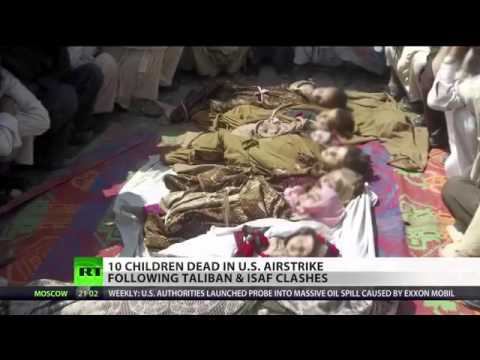 US-AIRSTRIKE-in-Afghanistan-KILLED-10-CHILDREN-following-Taliban-n-ISAF-CLASHES
