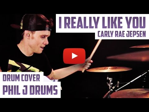 """I Really Like You"" by Carly Rae Jepsen - w Extra Drums by Phil J"