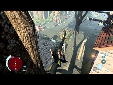 Assassin's Creed III - Perfect Stealth Barehanded - Fort St-Mathieu