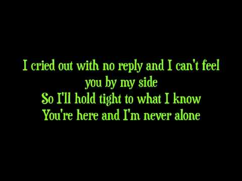 Never Alone by Barlowgirl LYRICS