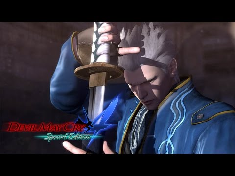 Devil May Cry 4 Special Edition - Vergil Gameplay (DMC4)