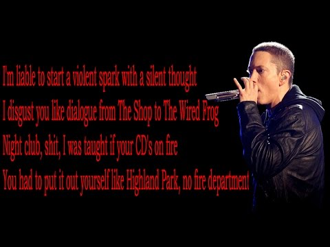 Eminem- Shady XV Lyrics HQ
