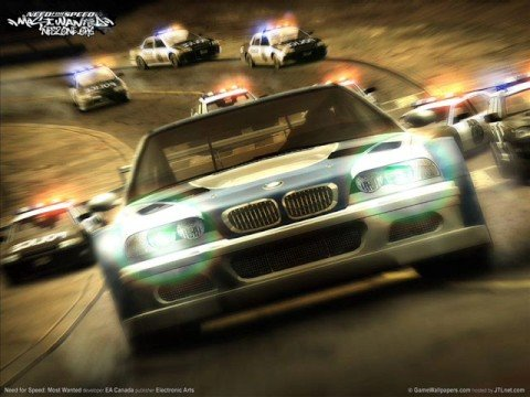 NFS MOST WANTED I'M ROCK