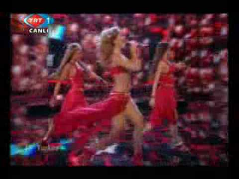Eurovision 2009 Turkey: Hadise - Dum Tek Tek (Crazy For You)