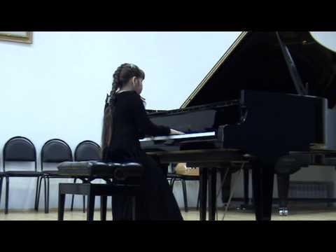 F. Chopin - Nocturne cis- moll №20 (posth opus). Koshel Dasha ( 9 years old) .