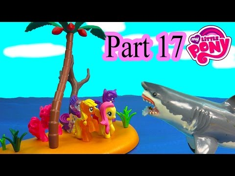 MLP Airplane Airport - Deserted Island - My Little Pony Part 17 Twilight Pinkie Pie Series Video
